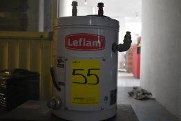 Calentador eléctrico marca Leflam, Modelo: 204-009, Serie: 18F200155, Activo: 004105