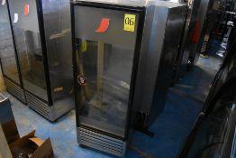 Refrigerador exhibidor con puerta de cristal marca Imbera, Modelo: G319CBMAD, Serie: 422170100072
