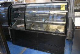Vitrina exhibidora refrigerada marca Ojeda, Modelo: DOLCE DUO I, Serie: 0810781-38431-X