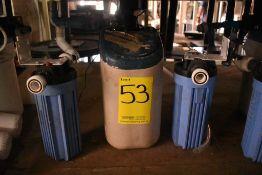 Equipo de filtro suavizador, Activo: 004106, incluye dos filtros. Sólo por partes.