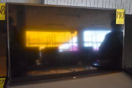 Pantalla Full HD de 50 pulgadas marca LG, Modelo: 50LH5730-UA, Serie: 611RMQK6B460