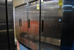 Refrigerador en acero inoxidable marca Parker Equipment, Modelo: LFB-771PC