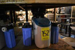 Equipo de filtro suavizador, Activo: 004024, incluye dos filtros.