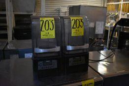 Dos licuadoras para hielo frape marca Vitamix, Modelo: VM0145, Series: 036019180616332122