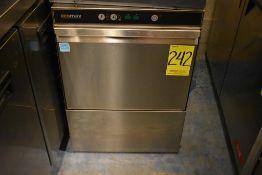 Máquina lavaloza en acero inoxidable marca Ecomax, Modelo: 917640, Serie: 2957270