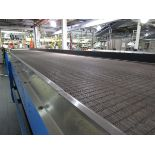 Alliance Industrial Approx. 6' x 70' Cooling Conveyor, PLC Control   Rig Fee: $7500