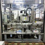 Krones Model Autocol Front/Back High Speed Pressure Sensitive Labeler, S/N: 747-   Load Fee: $250