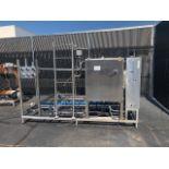 APV Crepaco 125 gpm HTST System, APV R57 P/F Heat Exchanger, S/N: 25598   Load Fee: $150