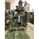 Clean in Place (CIP) System, Alfa Laval P/F Heat Exchanger, SS Tubular Base   Load Fee: $100