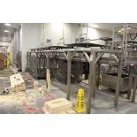 Stainless Steel Work Platform, W/ (4) Rotating Platforms   Rig Fee: $400