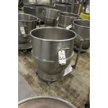 Stainless Steel Mixer Bowl, 140 Qt.   Rig Fee: $15