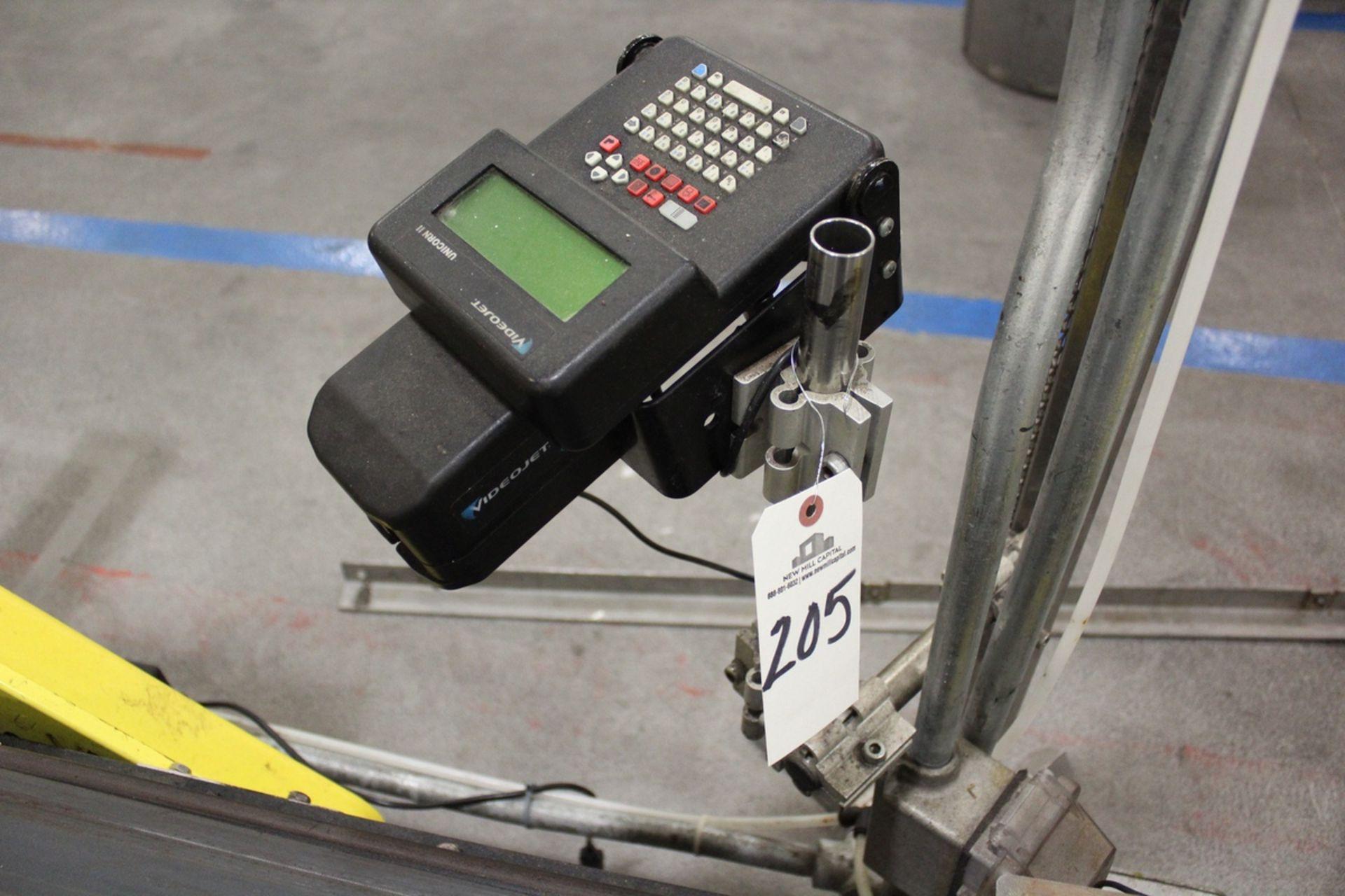 Lot 205 - Videojet Case Coder, M# Unicorn II | Rig Fee: $50
