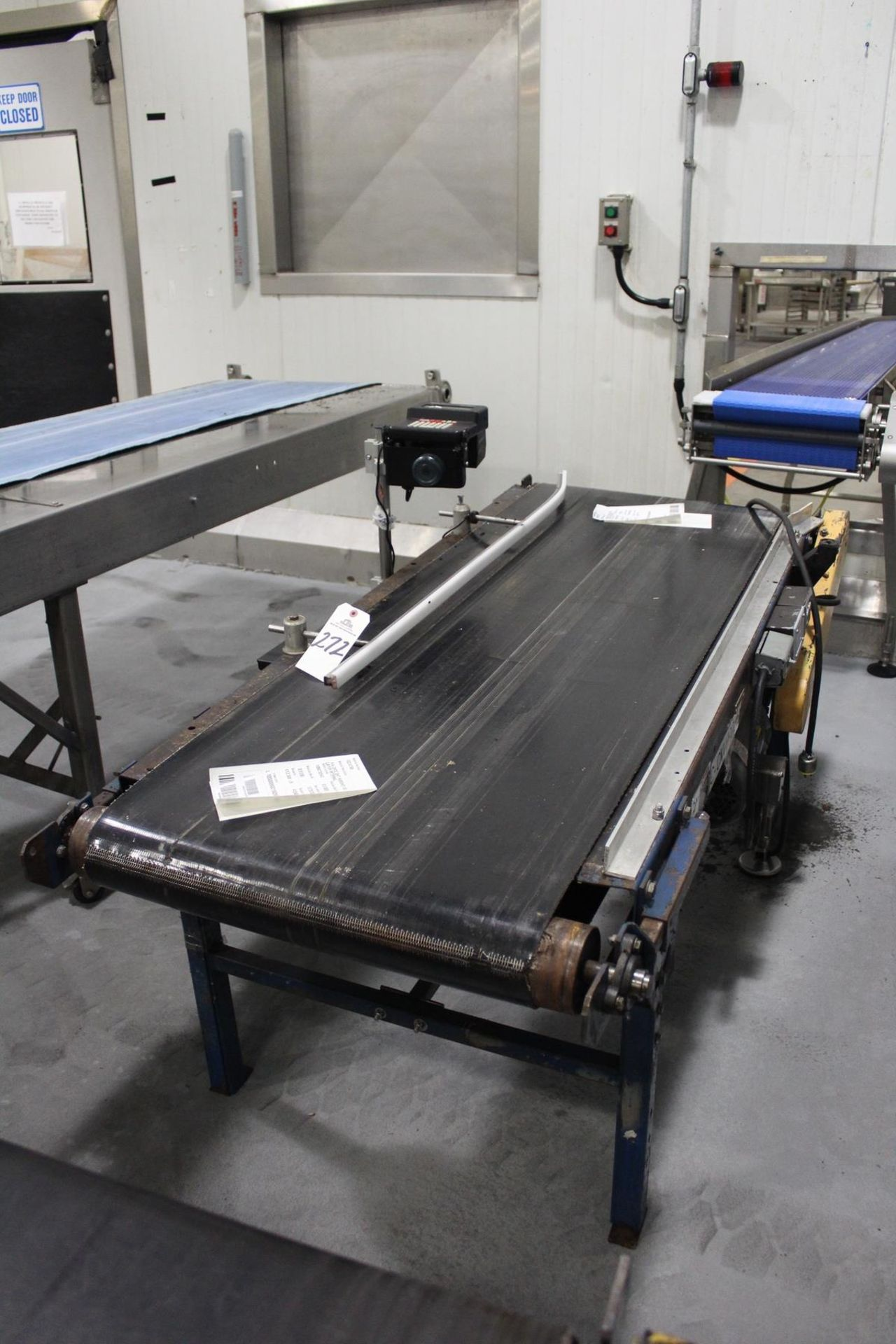 "Lot 272 - Conveyor Section, 24"" X 68"" w/ Videojet Unicorn II Case Coder 