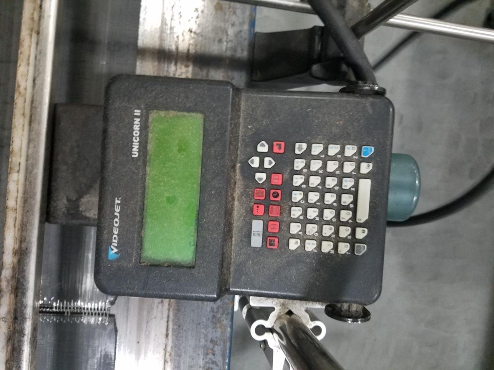 "Lot 271 - Conveyor Section, 24"" X 68"" w/ Videojet Unicorn II Case Coder | Rig Fee: $50"