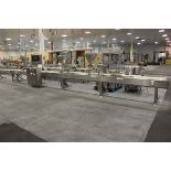 Unifiller Automatic Cake Frosting/Decorating Line, W/ (3) Dual Piston Hopper Fe   Rig Fee: $800