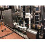 2008 Plough Eng. Model 40HL Flash Pasteurizer, Ctrls, Heat Exchangers, Beer & Tanks | Rig Fee: $500