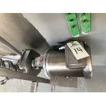 Fristam Stainless Steel Pump, Stainless Steel Motor, 2.5in Inlet, 2i | Rig Fee: $50