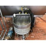 Stainless Steel Balance Tank, Screen & Heater, (2) Ball Valves, (1) Butterfly Val | Rig Fee: $100