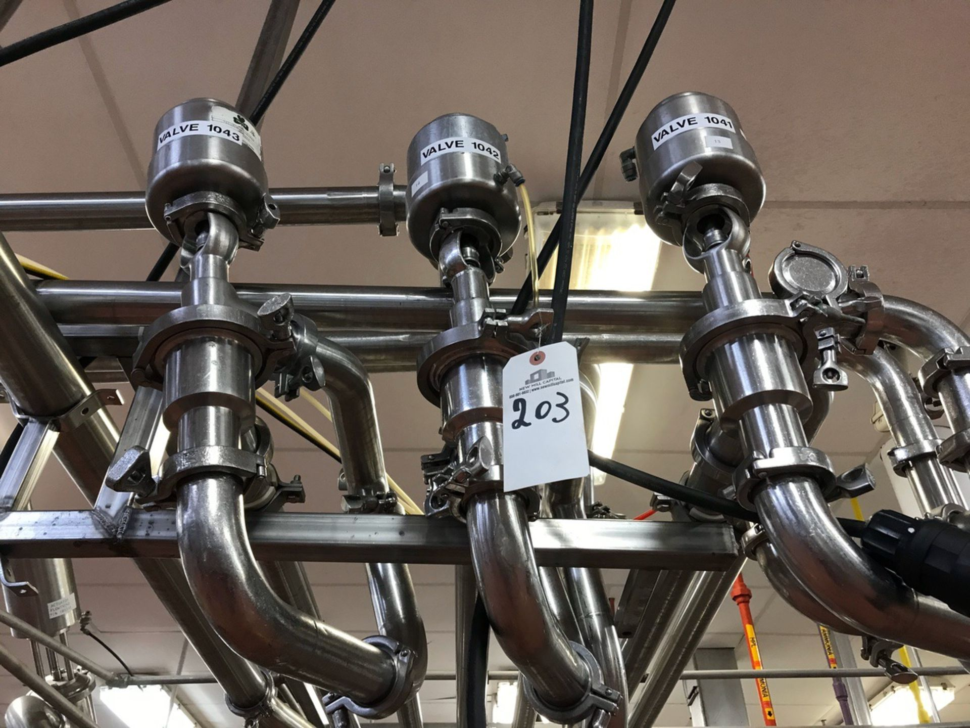 Lot 203 - (3) Tri-Cover Air Valves, 2in   Rig Fee: $75
