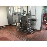 Ecolab Single Tank CIP System, Stainless Steel Shell & Tube Heat Exchanger, Lesso | Rig Fee: $750