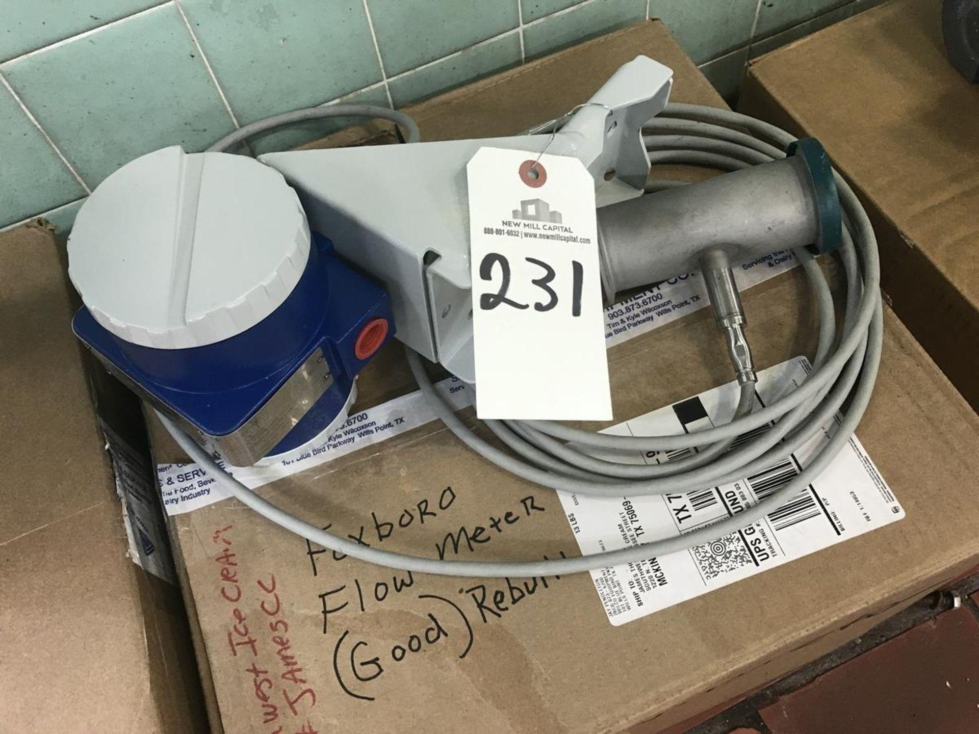 Lot 231 - Foxboro Model 83 Flow Meter (Unused), 2in, SN: 11370321 | Rig Fee: $25