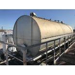 4,800 Gallon Horizontal Tank with UV Light | Rig Fee: $2500