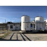 8,000 Gallon Silo/Sugar Tank, Jacketed, UV Light, SN: E198-94 | Rig Fee: $2500