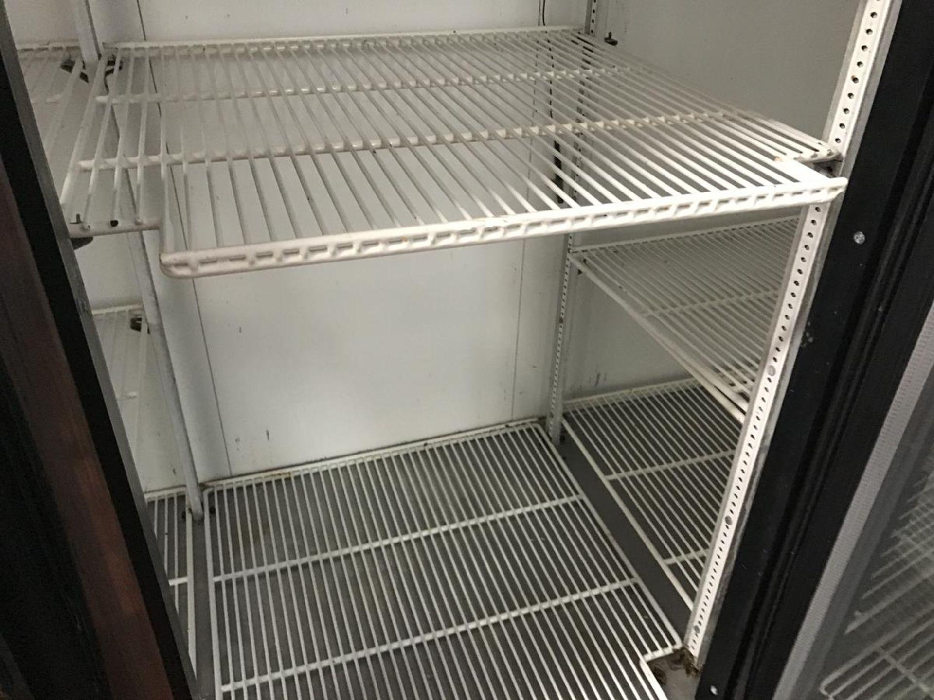Lot 358 - 3-Door Cooler with Glass Doors | Rig Fee: $100