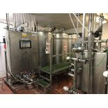 Sani-Matic 3-Tank CIP System, Air Valves, Control Panel, Stainless Steel Shell & | Rig Fee: $400