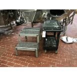 Cart, 2-Step Stainless Steel Stand | Rig Fee: 25