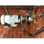 Fristam Centrifugal Pump, 2in Inlet, 1.5in Outlet | Rig Fee: $50