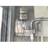 Accurate Metering Systems Model IZM-80 Flow Meter, 200 GPM, Cream Readout & Conde | Rig Fee: $150