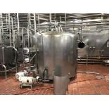1,000 Gallon 3-Zone Jacketed Tank, Dome Top, Temperature Probe, Mount for Agitator | Rig Fee: $850