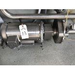 Fristam 5HP Stainless Steel Pump, Stainless Steel Motor, 2.5in Inlet | Rig Fee: $50