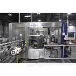 2007 Krones Contiroll HS High Speed Roll Fed Wrap Labeler and Checkmat 707 Label Inspector, 460V/3ph