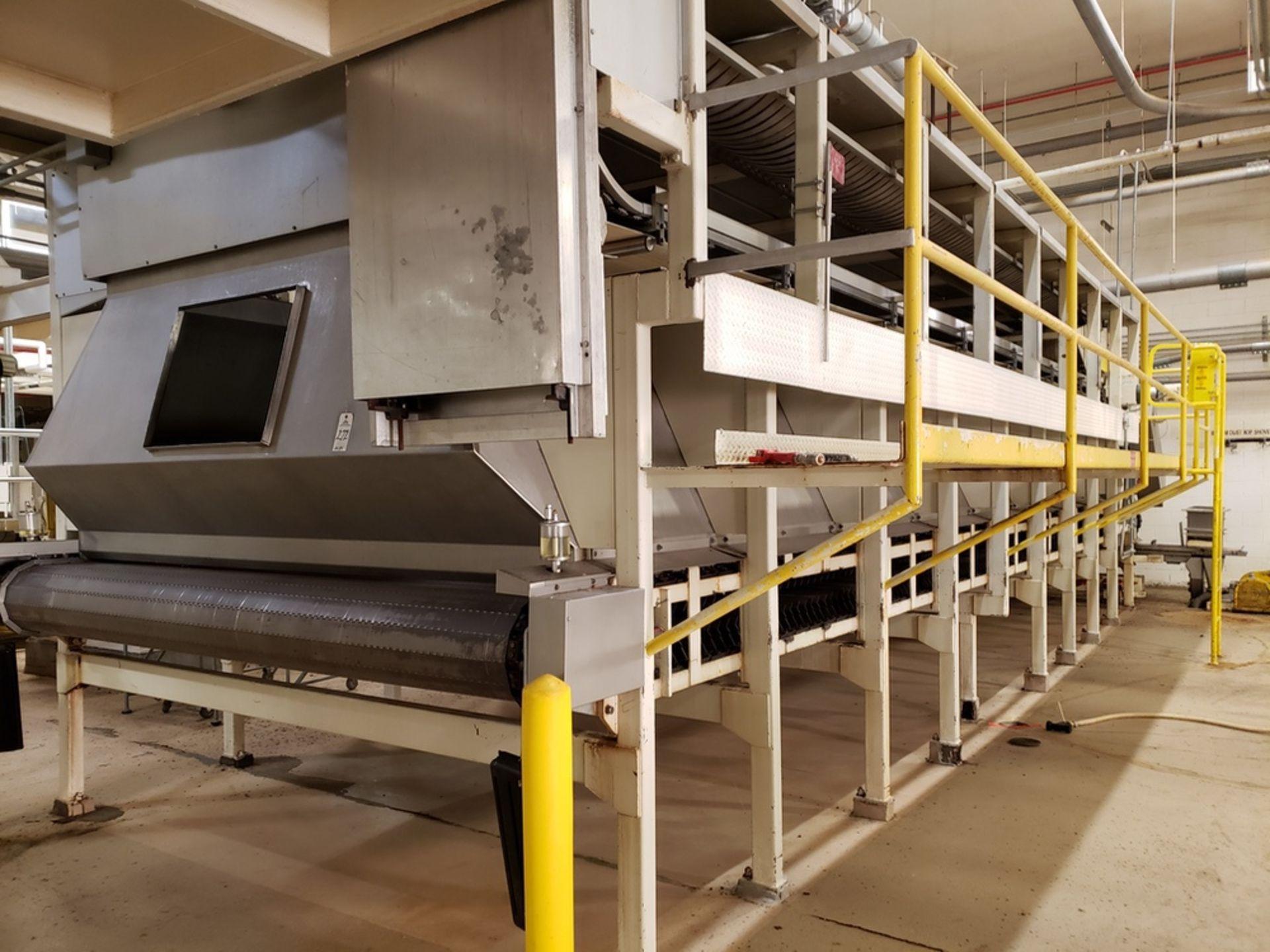 Lot 272 - 10' X 40' Grain Drying/Surge Bin, W/ Leveling Screws | Rig Fee: $7500