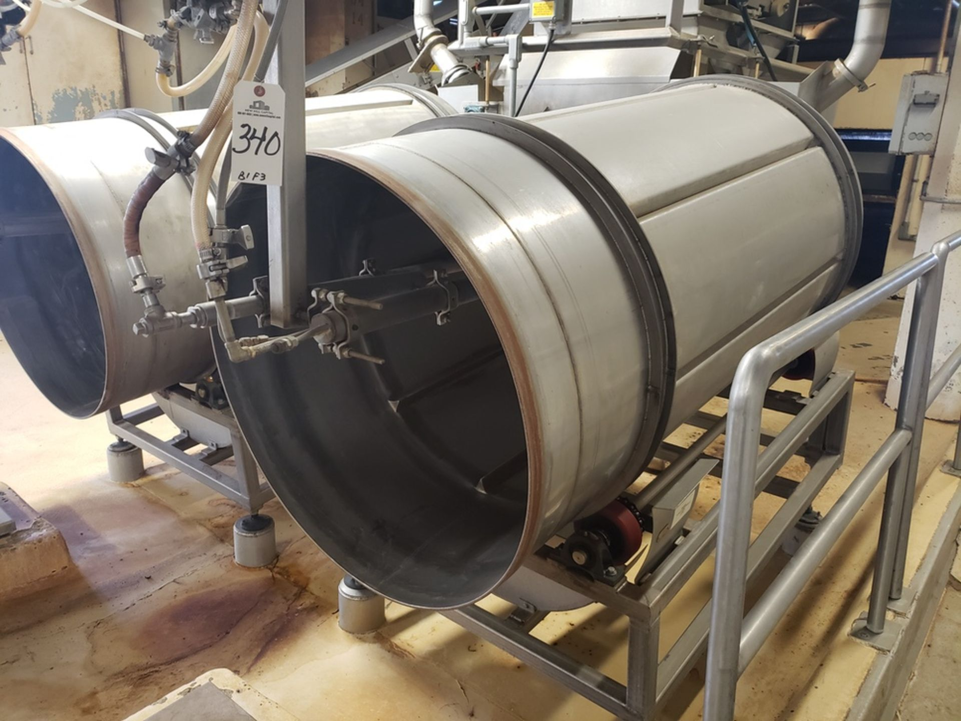 Lot 340 - Stainless Steel Glazing Tumbler | Rig Fee: $600