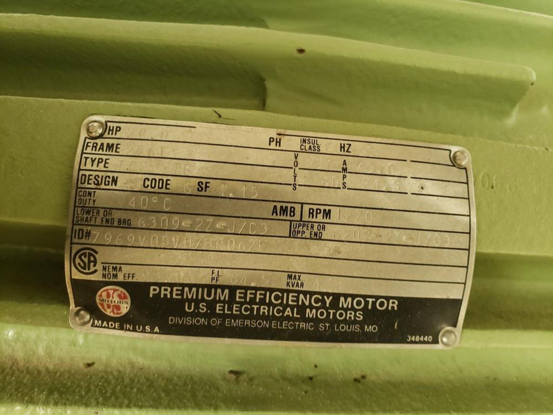 Lot 318 - 20 HP Blower Skid | Rig Fee: $375