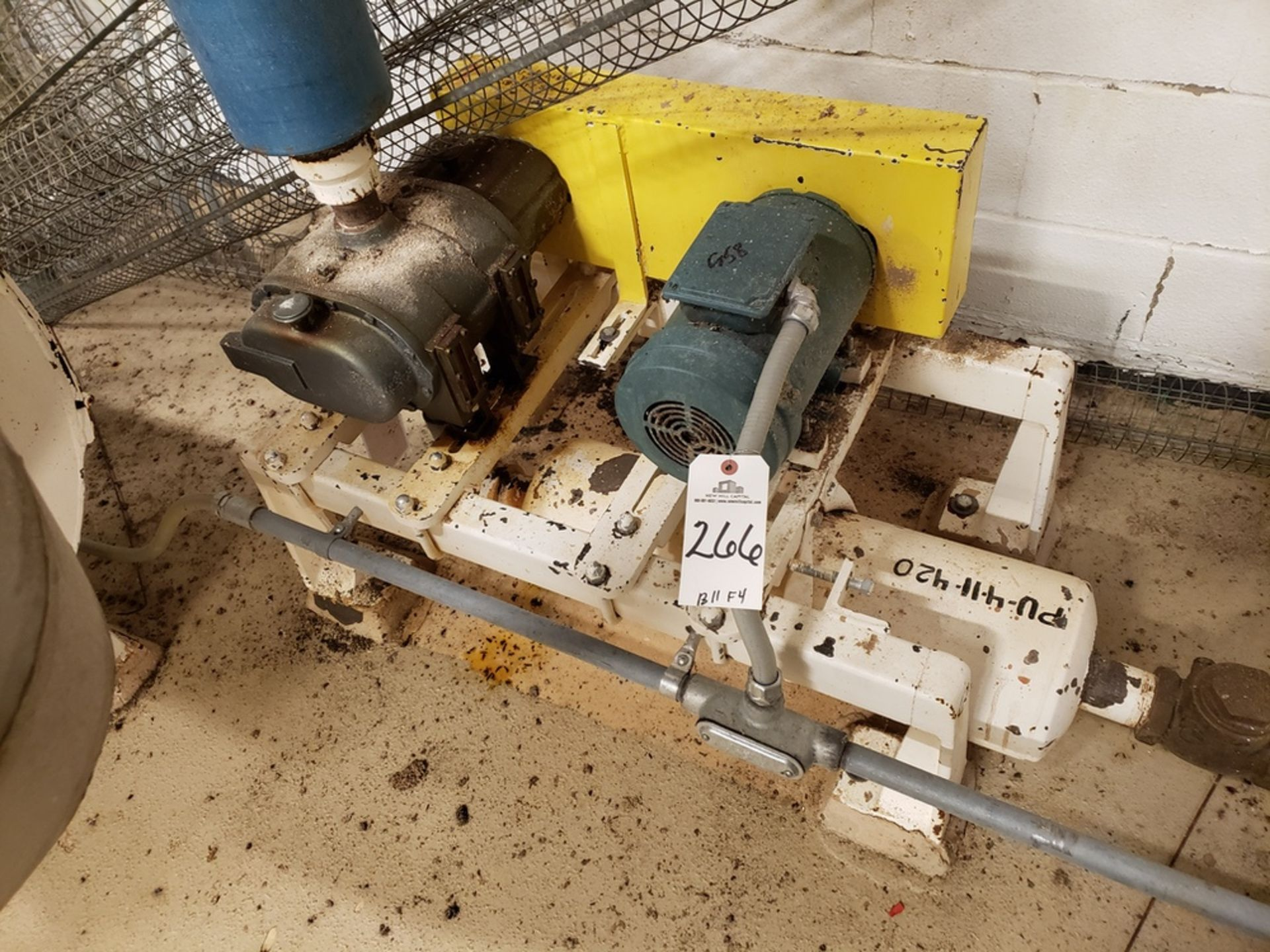 Lot 266 - 3 HP Blower Skid | Rig Fee: $250