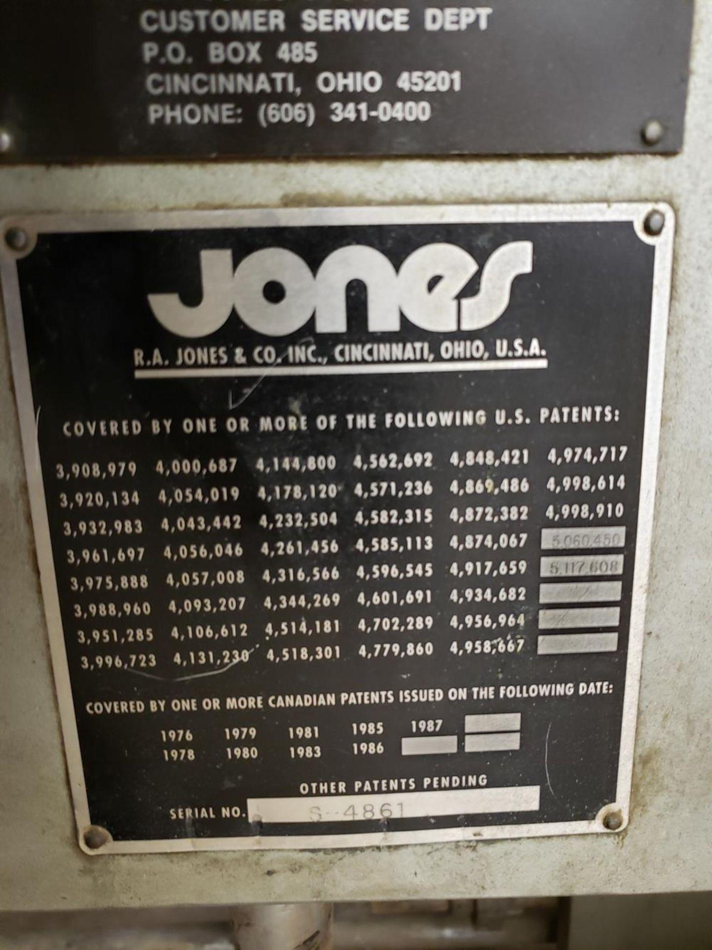 Lot 136 - Jones Tray Erector, W/ Side Seam Gluer, S/N S-4861 | Rig Fee: $1400
