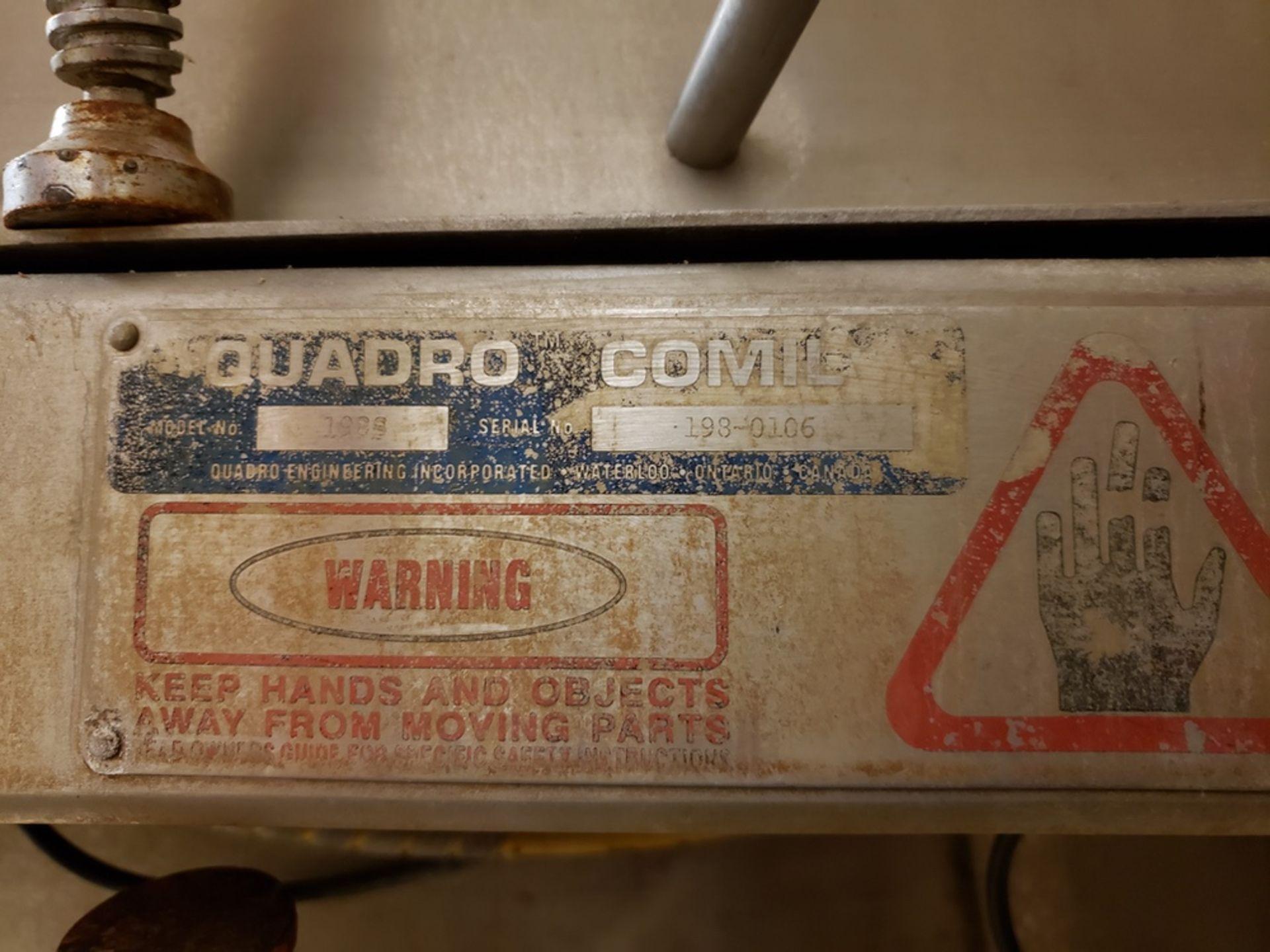 Lot 184 - Quadro Comil, M# 198S, S/N 198-0106, W/ Feed Auger | Rig Fee: $600