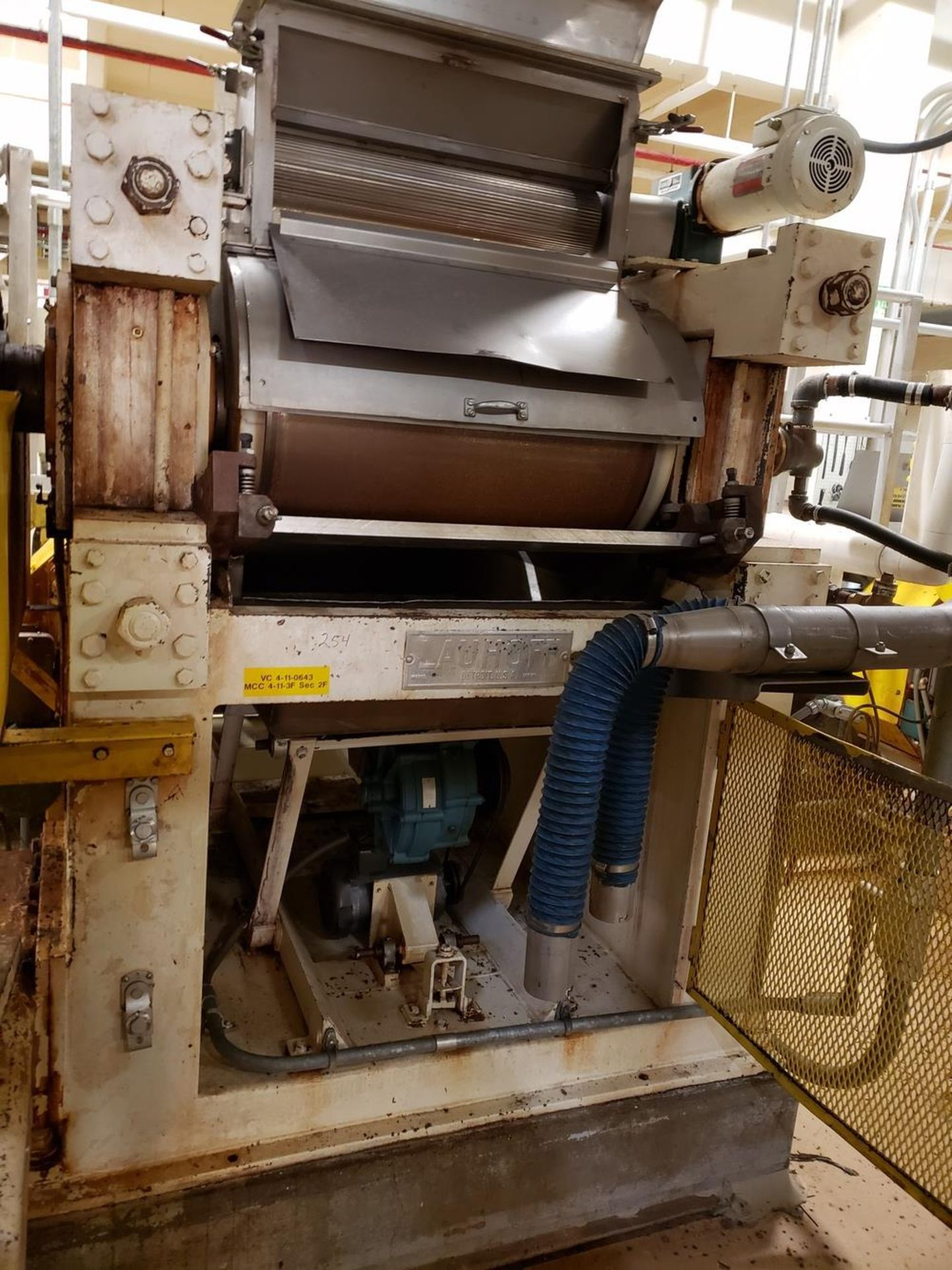 Lot 254 - Lauhoff Flaking Roll, 75 HP | Rig Fee: Contact Rigger