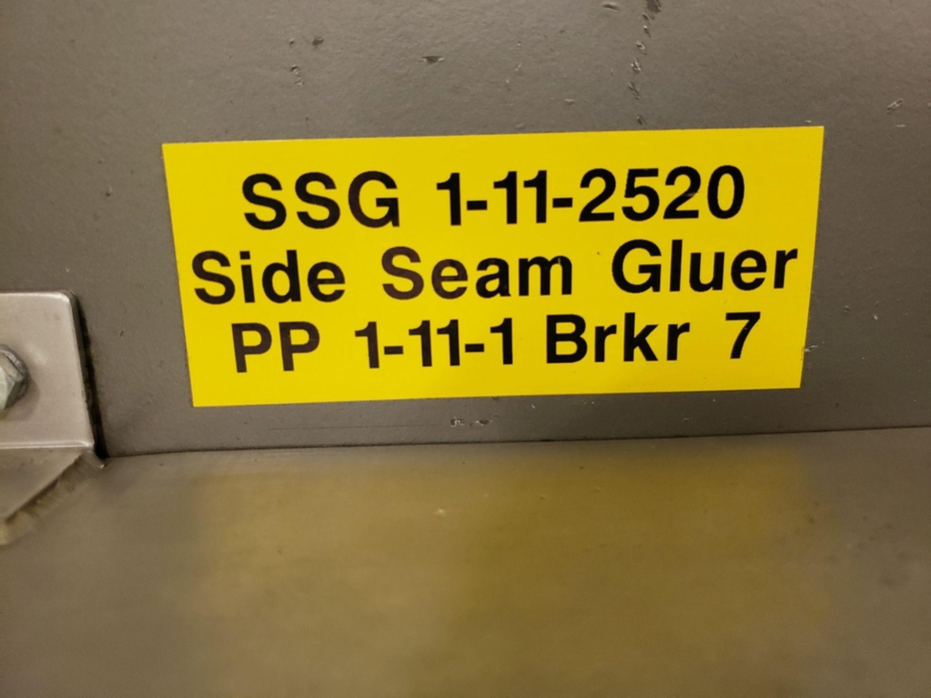 Lot 108 - F.N.Smith Side Seam Gluer, M# 21442, S/N 0927-0000-001 | Rig Fee: $600