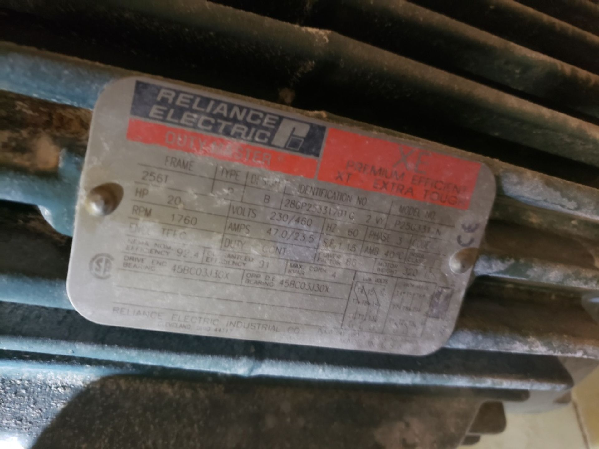 Lot 439 - 20 HP Blower Skid | Rig Fee: $400