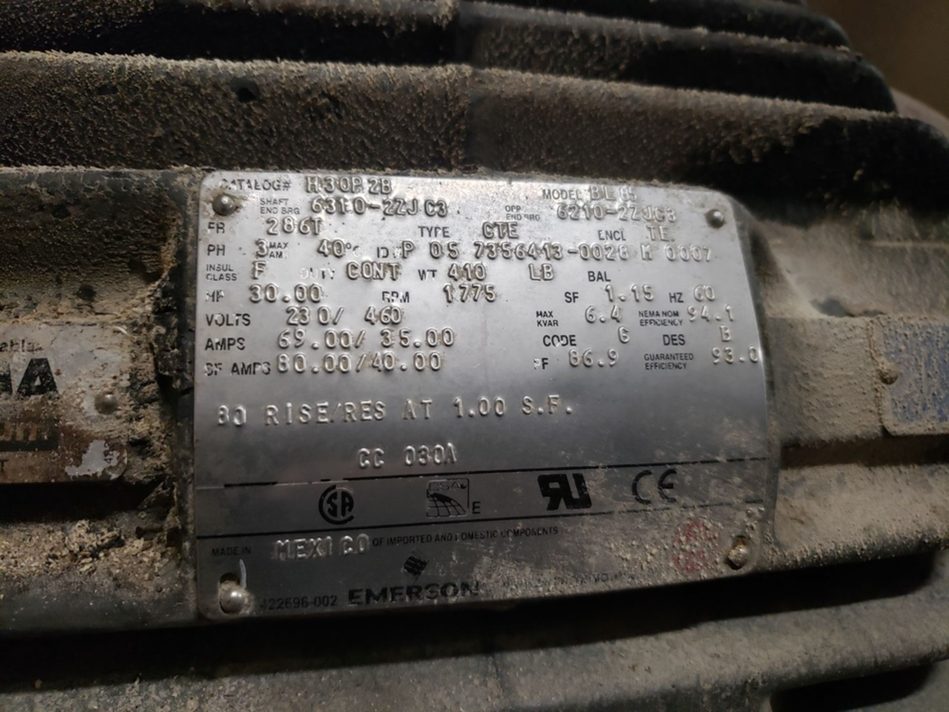 Lot 308 - 30 HP Blower Skid | Rig Fee: $400