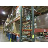 """(44) Sections of Adjustable Pallet Shelving Including (48) 16' x 44"""" Uprights, (23   Buyer to Remove"""
