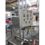 Cavalla Soy Wax Melter For Solid Perfume, K15 Control, s/n 116, Roller Conveyor   Rig Fee: $50