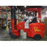 "Flexi Plus G4 Narrow Aisle Articulating Forklift s/n NA01329, 3300#, 194"", 3,550 Hou   Rig Fee: $100"