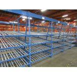 """(19) Sections Kingway Flow Racking, 60"""" Wide   Buyer to Remove"""