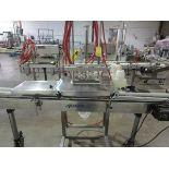 "2011 Accutek Spray Perfume Production Line, 4-Head Filler, Accutek 26-ST46-SAC 4.5""   Rig Fee: $250"